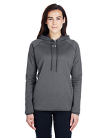 Women's Under Armour Double Threat Armour Fleece Hoodie Main Image