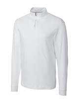 Cutter & Buck Men's Pima Cotton Big & Tall Long Sleeve Belfair Half-Zip Mock Turtleneck Main Image