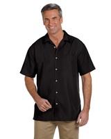 Men's Barbados Textured Camp Shirt Main Image