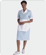 Junior Cord Housekeeping Dress Main Image
