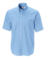 Big Tall Cutter & Buck Short Sleeve Epic Easy Care Nailshead Main Image