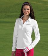 Women's Nike Golf Long Sleeve Dri-FIT Stretch Tech Polo Shirt Main Image