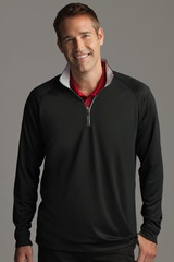 Greg Norman Play Dry -zip Performance Mock Main Image