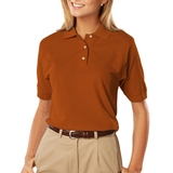 Women's 100 Egyptian Ringspun Cotton Polo Main Image
