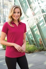 Women's Diamond Jacquard Polo Main Image
