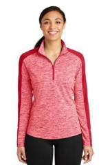 Women's Electric Heather Colorblock 1/4-Zip Pullover Main Image
