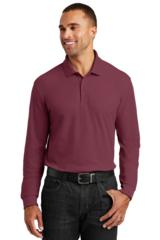Long Sleeve Core Classic Pique Polo Main Image
