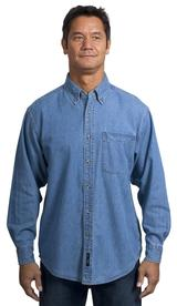 Long Sleeve Denim Shirt Main Image