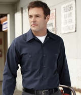 Long Sleeve Industrial Work Shirt Main Image