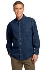 Long Sleeve Value Denim Shirt Main Image