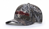 Richardson Structured Camo Cap Main Image