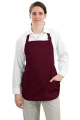 Medium Length Apron With Pouch Pockets Main Image