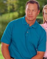 Men's 100 Egyptian Ringspun Cotton Pique Polo Shirt Main Image