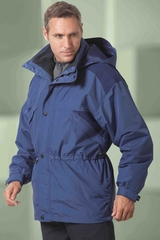 Men's 3-in-1 Techno Series Parka With Dobby Trim Main Image