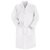 Men's 4-button Lab Coat Main Image