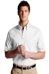 Men's Button Down Poplin Shirt SS Main Image