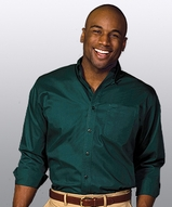Men's Cotton Twill Rich Long Sleeve Twill Shirt Main Image