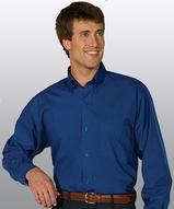 Men's Easy Care Poplin Shirt LS Main Image