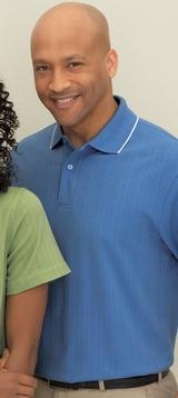 Men's Edry Needle Out Interlock Polo Shirt Main Image