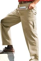 Men's Flat Front Cargo Pant Main Image