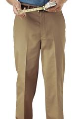 Men's Flat Front Pant Main Image