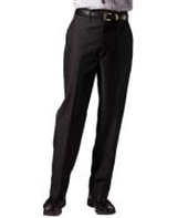 Men's Flat Front Poly / Wool Pant Main Image
