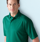 Men's Performance Jacquard Pique Polo Main Image