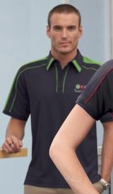 Men's Performance Polyester Pique Polo Shirt Main Image