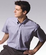 Men's Pinpoint Oxford Shirt SS Main Image