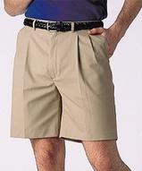 Men's Pleated Twill Short Main Image