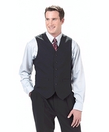 Men's Poly / Wool High Button Vest Main Image