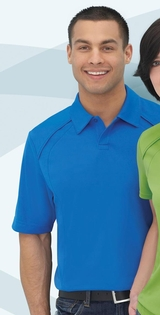Men's Recycled Pique Polo Shirt Main Image