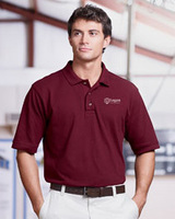 Men's Ringspun Cotton Pique Short-sleeve Polo Main Image