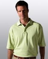 Men's Short Sleeve All Cotton Pique Polo Main Image