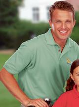 Men's Short Sleeve Pique Polo Shirt Main Image