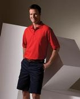 Men's Short Sleeve Soft Touch Blended Pique Polo Main Image