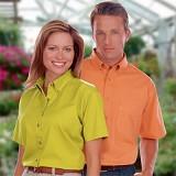 Men's 100% Cotton S/S Twill Shirt Main Image