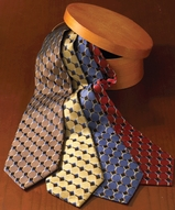 Men's Silk Honeycomb Tie Main Image