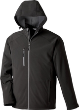 Men's Soft Shell Jacket With Hood Main Image
