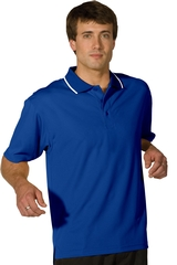 Men's Tipped Collar Dry-mesh Hi-performance Polo Main Image