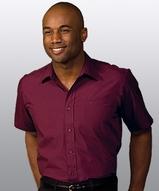 Men's Value Broadcloth Shirt SS Main Image