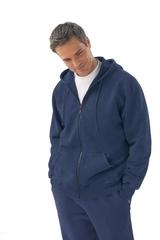 Men's Vintage Hooded Zip Jacket Main Image