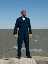 Men's Zip-front Cotton Coverall Main Image