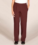 Misses Polyester Solid Pant Main Image