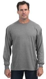 Moisture Management 50/50 Cotton / Poly Long Sleeve T-shirt Main Image