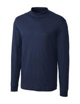 Cutter & Buck Pima Cotton Big & Tall Long Sleeve Belfair Mock Turtleneck Main Image