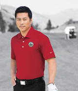 Nike Golf Shirt Dri-FIT Mini Texture Polo Main Image