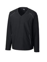 Men's Cutter & Buck Big & Tall WeatherTec Beacon V-Neck Jacket Main Image