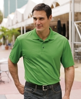 Performance Fine Jacquard Polo Shirt Main Image