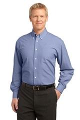 Plaid Pattern Easy Care Shirt Main Image